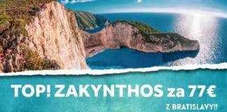 letenky z Bratislavy na Zakynthos