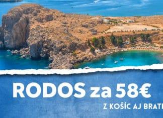 letenky z Košíc aj Bratislavy na Rodos