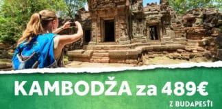 letenky z Budapešti do Kambodže