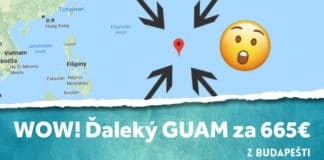 letenky z Budapešti na Guam
