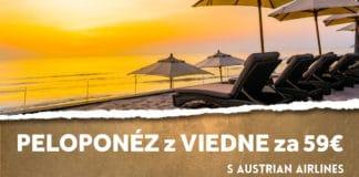 letenky z Viedne na Peloponéz