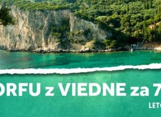 letenky z Viedne na Korfu