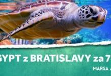 letenky z Bratislavy do Egypta
