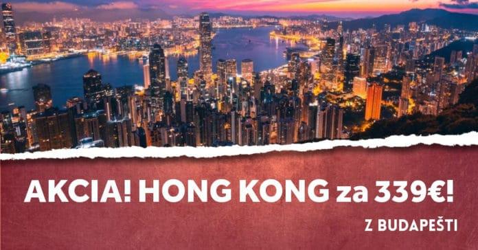 letenky z Budapešti do Hong Kongu
