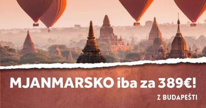 letenky z Budapešti do Mjanmarska