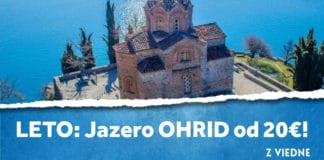 letenky z Viedne do mesta Ohrid