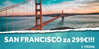 letenky z Viedne do San Francisca