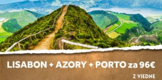 letenky z Viedne na azory