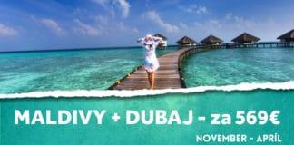 letenky na Maldivy a Dubaj