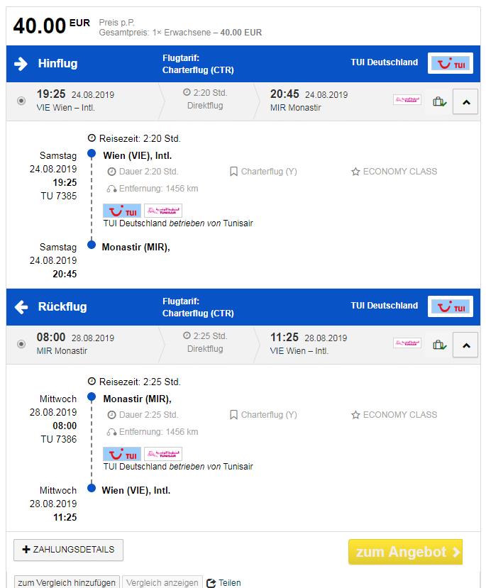 letenky z Viedne do Monastiru