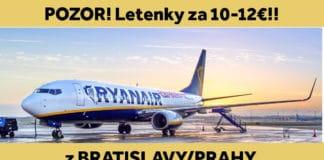 letenky za 10-12€