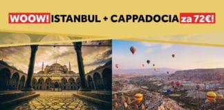letenky do Istanbulu a Cappadocie