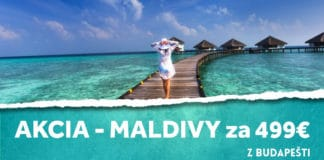 letenky z Budapešti na Maldivy