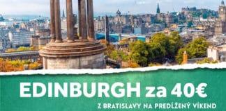 letenky do Edinburghu