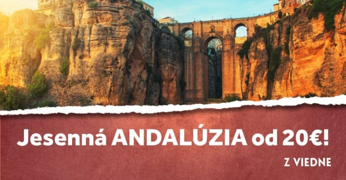 letenky z Viedne do Andalúzie