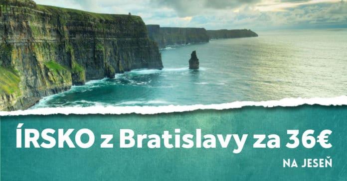 letenky z Bratislavy do Írska