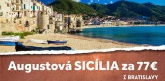 letenky z Bratislavy na Sicíliu
