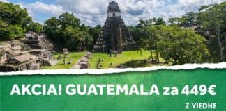letenky z Viedne na Guatemalu