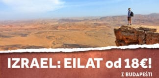 letenky z Budapešti do Eilatu