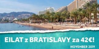 letenky z Bratislavy do Eilatu