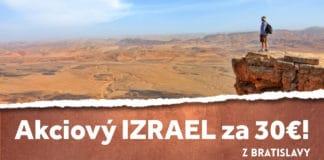 letenky z Bratislavy do Izraela