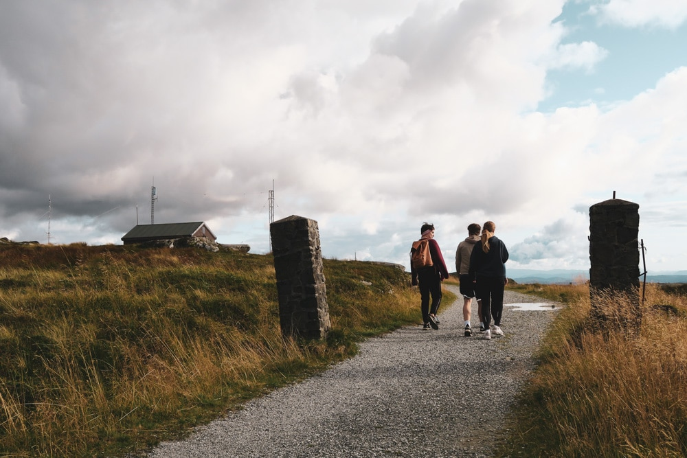 Výlet z Stolzekleiven na Floyen nad Bergenom