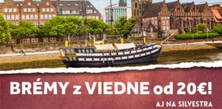letenky z Viedne do Brém