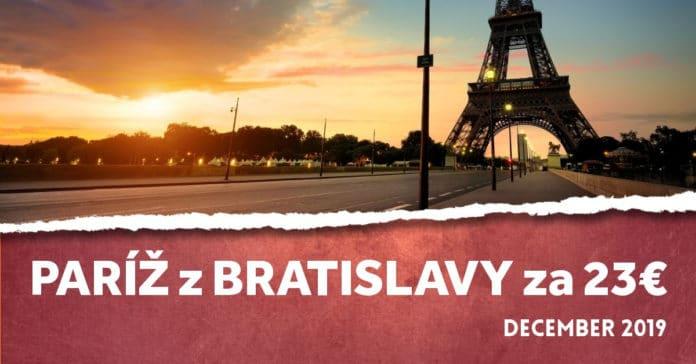 letenky z Bratislavy do Paríža
