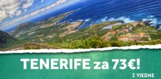 letenky z Viedne na ostrov Tenerife