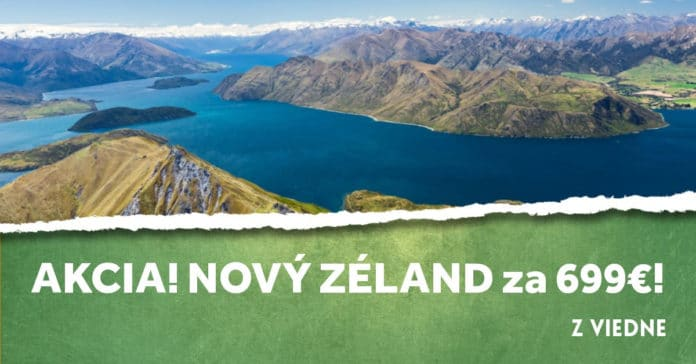 letenky na Nový Zéland