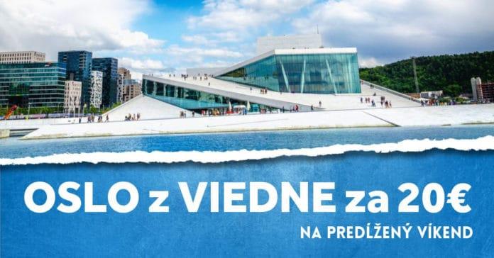 letenky z Viedne do Osla