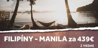 letenky z Viedne do Manily