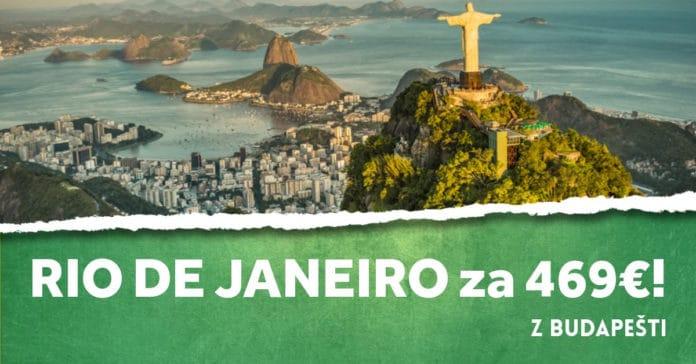 letenky z Budapešti do Rio de Janeiro