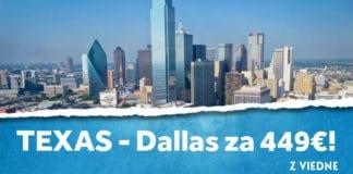 letenky z Viedne do Dallasu