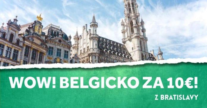 letenky z Bratislavy do Belgicka