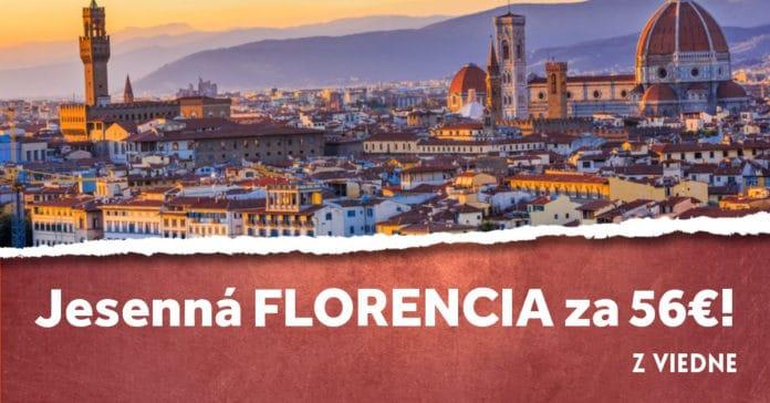 letenky z Viedne do Florencie