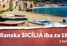 letenky z Katovíc na Sicíliu