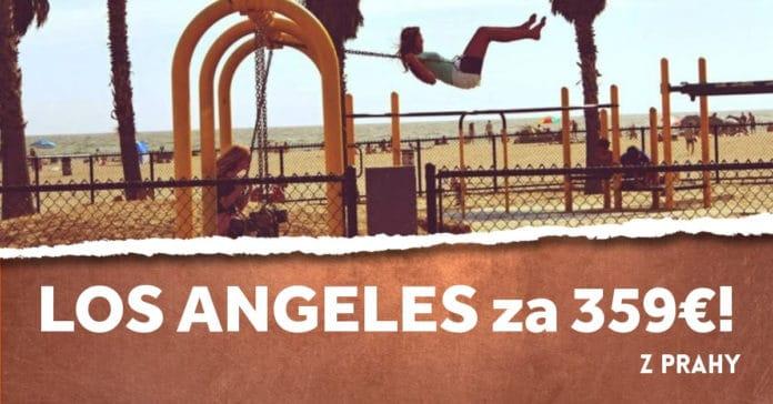 letenky z Prahy do Los Angeles