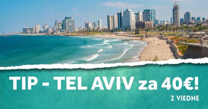 letenky z Viedne do Tel Avivu