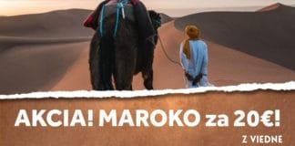 letenky z Viedne do Maroka