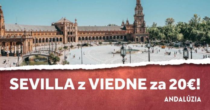 letenky z Viedne do Sevilla