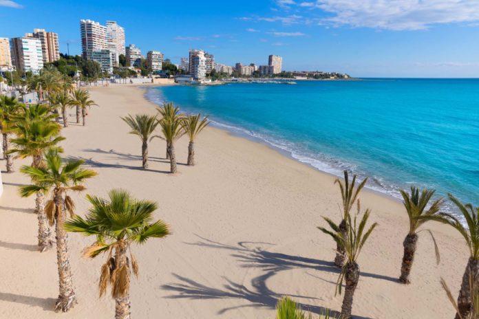 Pláž v Alicante