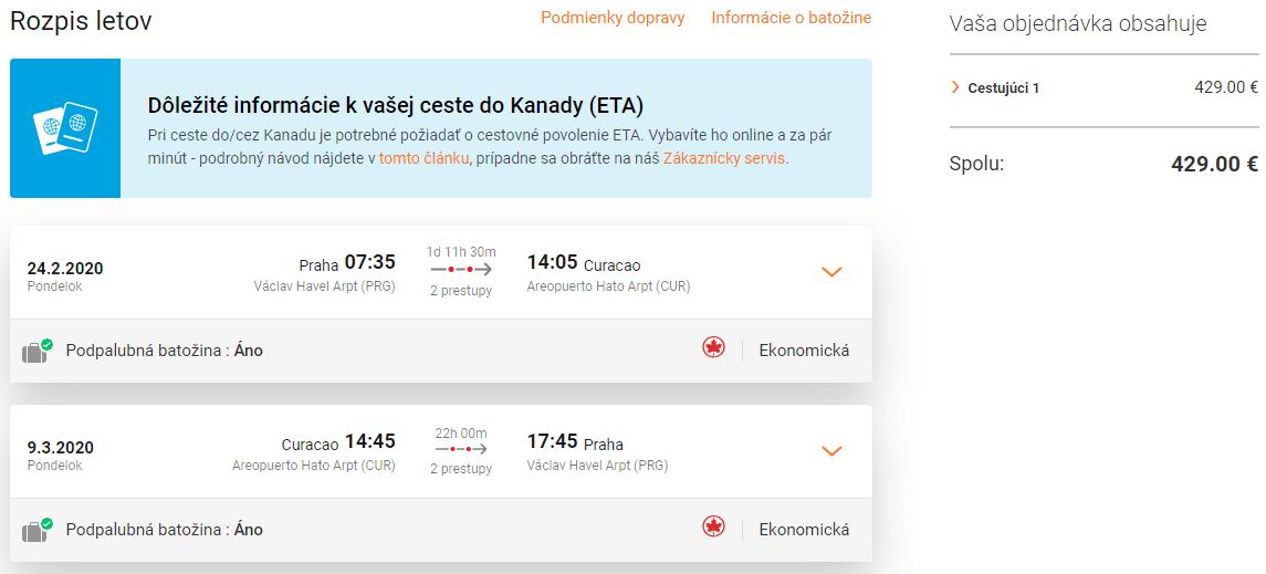 letenky z Prahy do Cuaraco