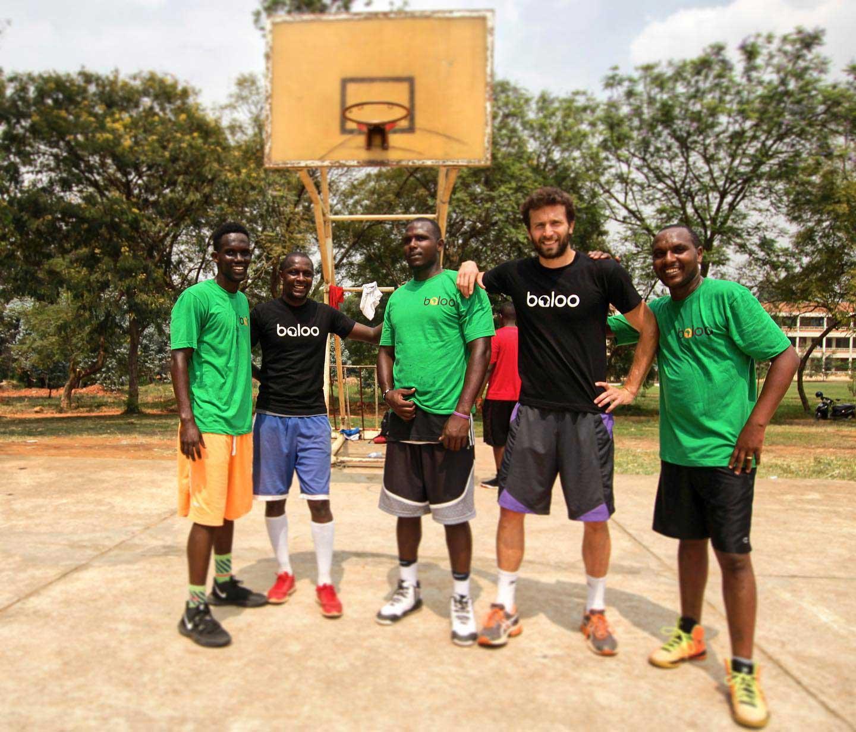 basketbal vo Rwande