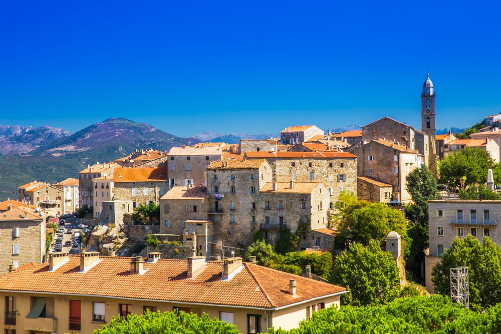 mestečko Sartène Korzika