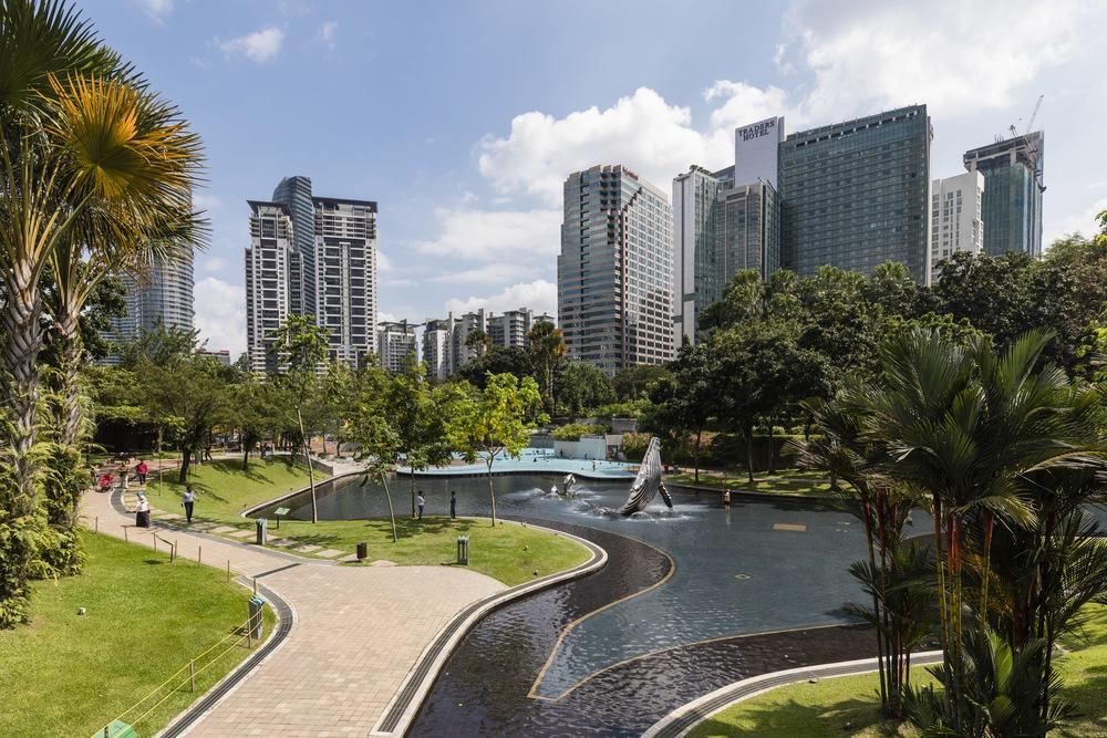 KLCC Park Kuala Lumpur