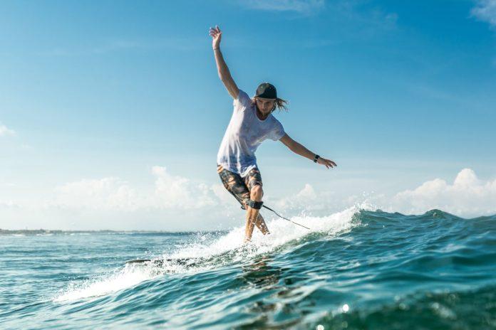 surfer na Fuerteventure