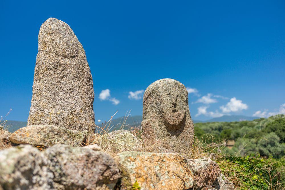 Filitosa monumenty na Korzike