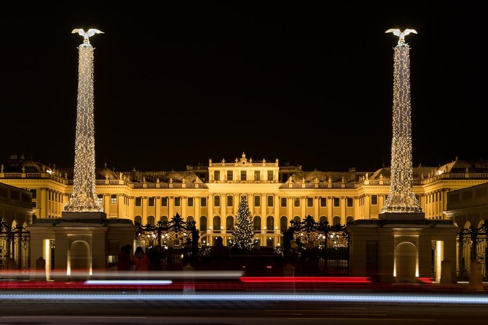 Schönbrunn Viedeň