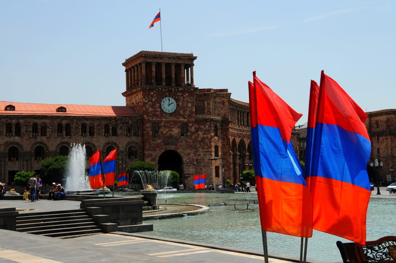 Jerevan Námestie Republiky